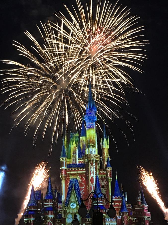 Disney-Magie-Königreich lizenzfreies stockfoto