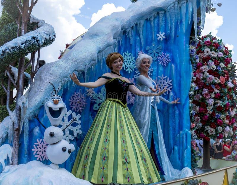 Disney Orlando Floryda królestwa Światowa Magiczna parada obraz royalty free