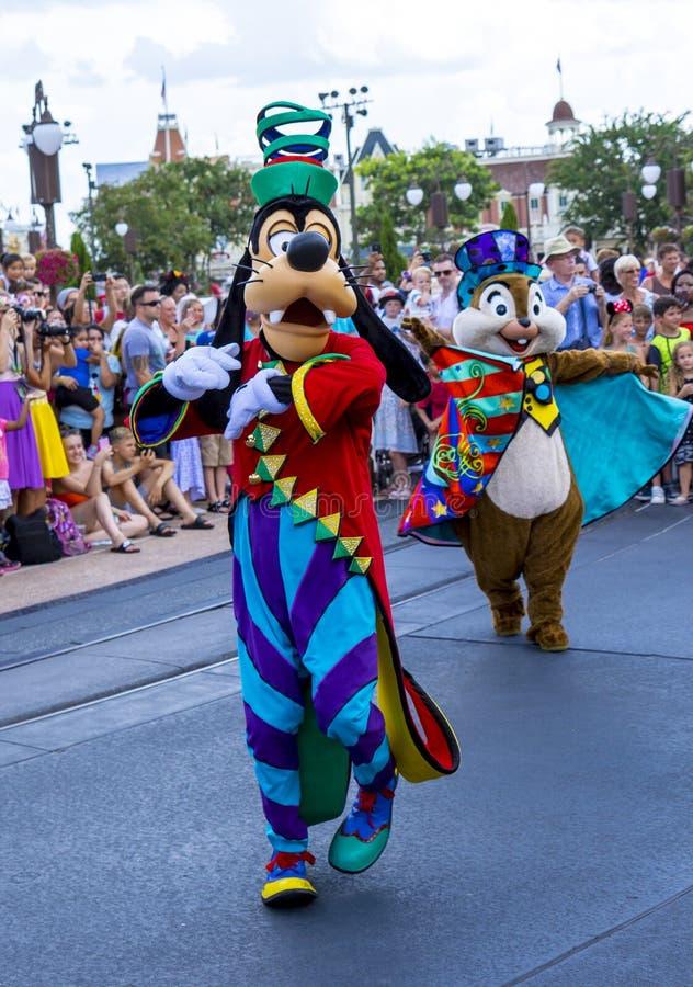 Disney Orlando Floryda królestwa Światowa Magiczna parada niemądra fotografia stock