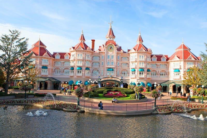 Disney París fotografía de archivo libre de regalías