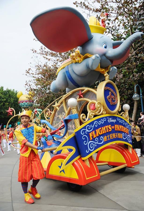 Disney Parade In Hongkong Editorial Photography