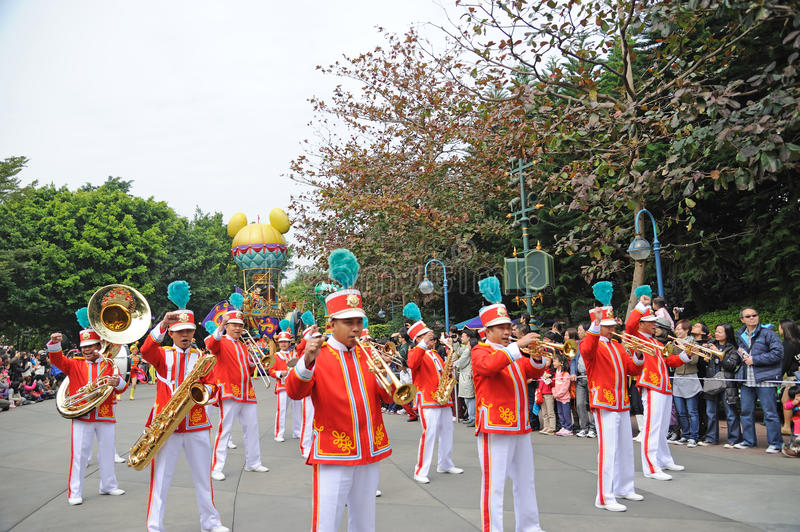 Disney parade in Hongkong