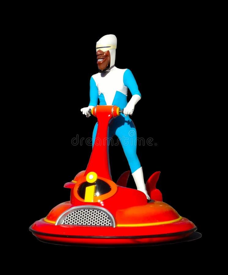 Disney Pixar Incredibles Frozone Lucius Best fotos de archivo libres de regalías