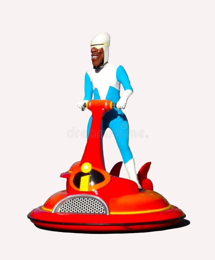 Disney Pixar Incredibles Frozone Lucius Best fotografía de archivo