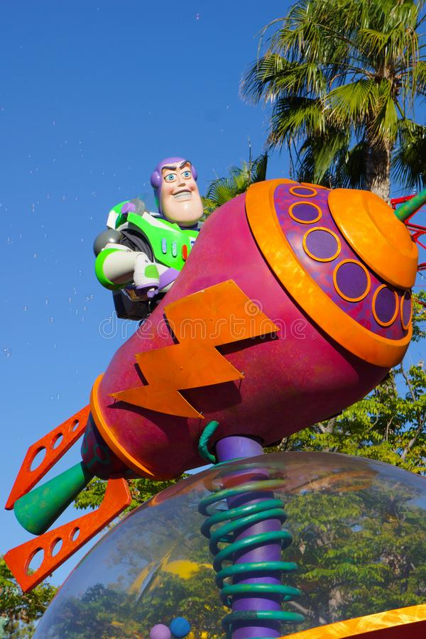 Disney Pixar Parade - Toy Story royalty free stock photography