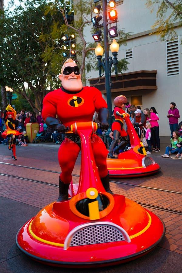 Disney Pixar ståtar det Kalifornien affärsföretaget fotografering för bildbyråer