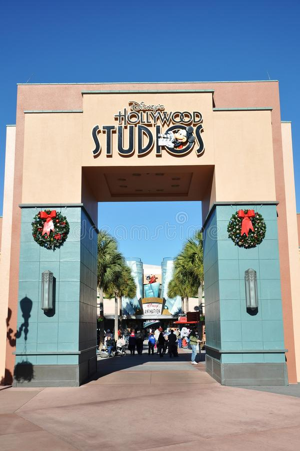 disney porthollywood studior royaltyfria bilder