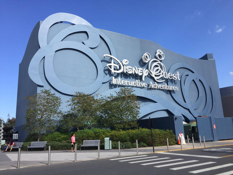 Disney poszukiwanie, Orlando, Floryda fotografia royalty free