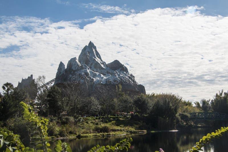 Disney's Animal Kingdom. Expedition Everest coaster - Orlando/FL - USA stock photography