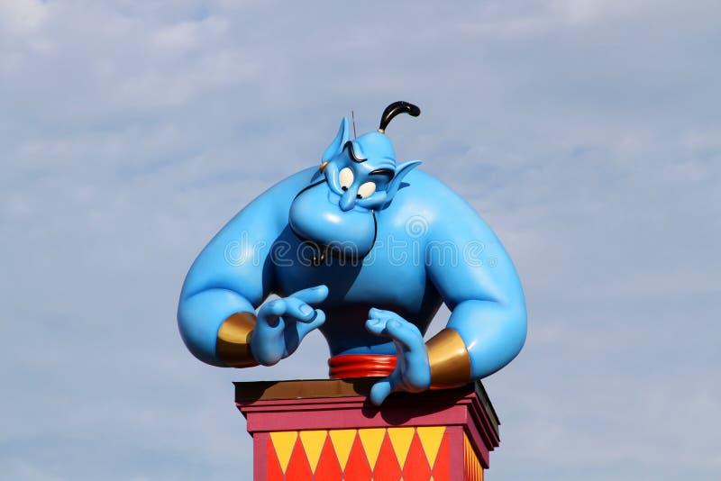 Download Disney's Genie editorial stock image. Image of aladin - 20618899