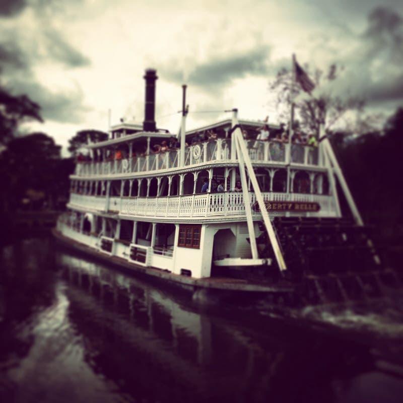 Disney`s Magic Kingdom `Liberty Belle` Ferry stock photos