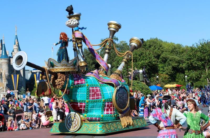 Disney's Merida at Magic Kingdom. royalty free stock image