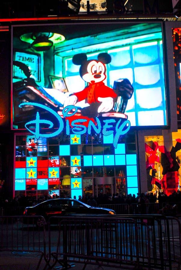Disney-Speicher, Times Square, NYC stockbilder