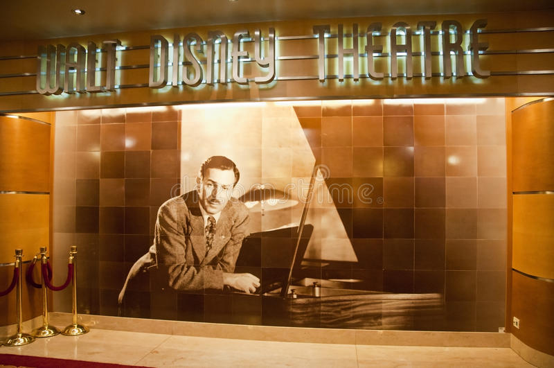 disney theatre walt obrazy royalty free
