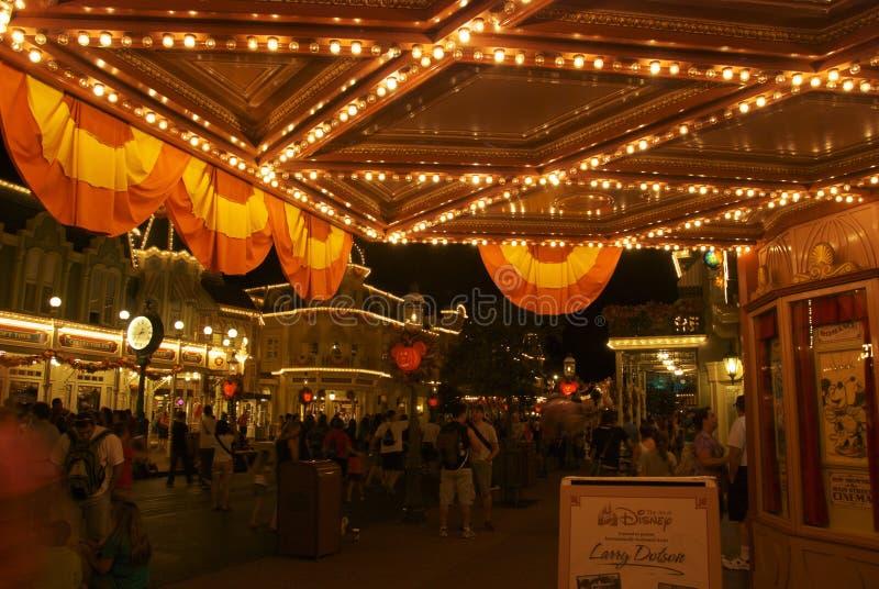 Disney värld royaltyfri fotografi
