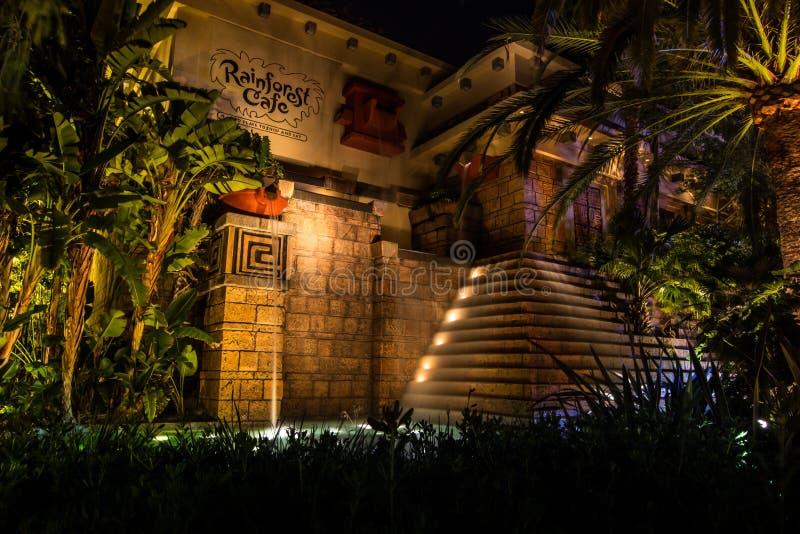 Disney van de binnenstad stock afbeelding