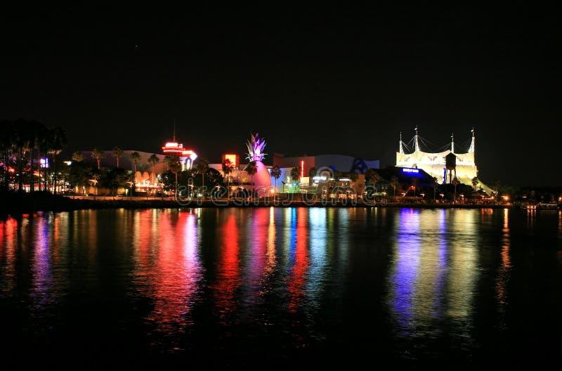 Disney van de binnenstad in Orlando stock foto's