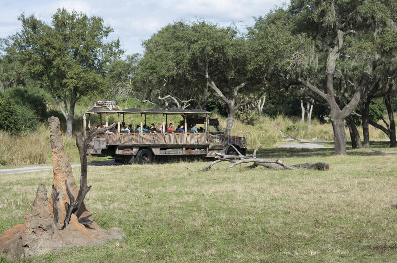 Disney-Welt Kilimanjaro Safari Animal Kindom lizenzfreies stockfoto
