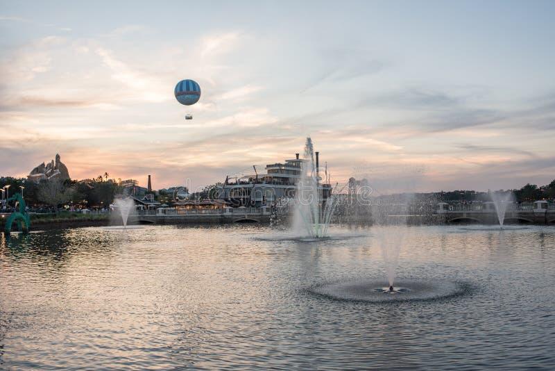 Disney wiosny przy Walt Disney światem fotografia royalty free
