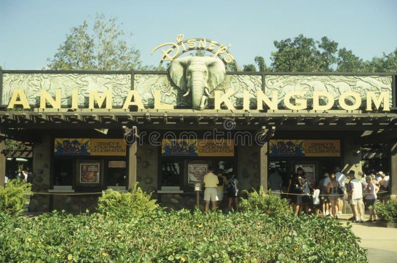 Download Disney World Animal Kingdom Entrance Editorial Image - Image: 22698460