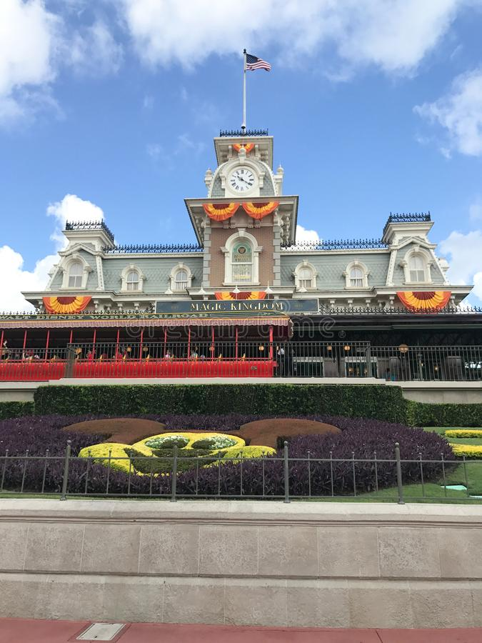 Disney World célèbre l'automne photos libres de droits