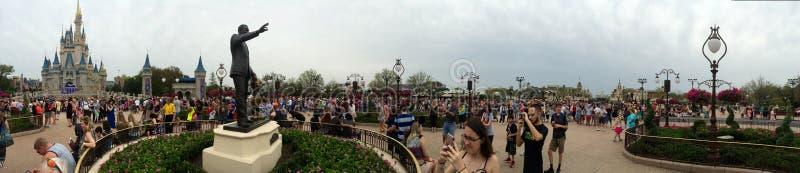 Disney World Cinderella Castle royaltyfria foton