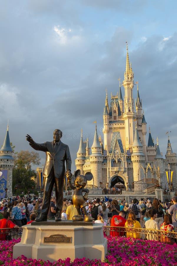 Disney World, Cinderella Castle, royaume magique, voyage la Floride photographie stock
