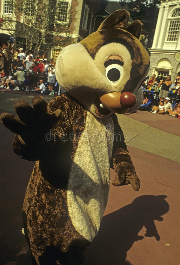 Download Disney World Magic Kingdom Character - Chip Editorial Photography - Image: 22698412