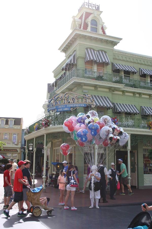 Disney world stock photo