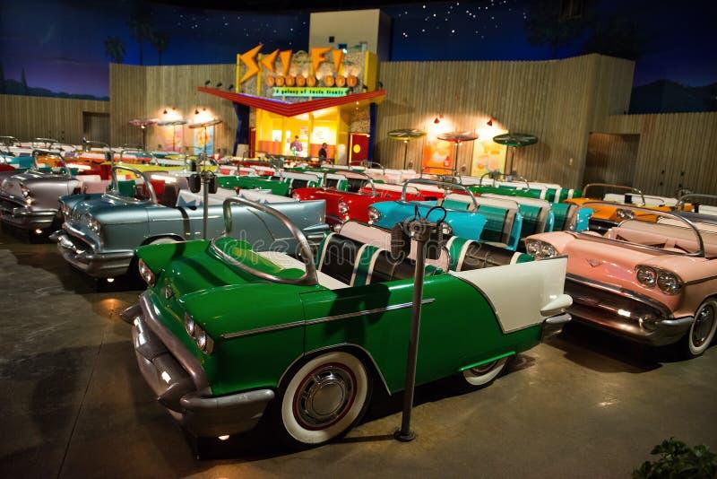 Disney World Sci Fi Diner Hollywood Studios. The Sci Fi Drive In Theatre Diner at Disney World in the Hollywood Studios park. Orlando, Florida is a popular royalty free stock images
