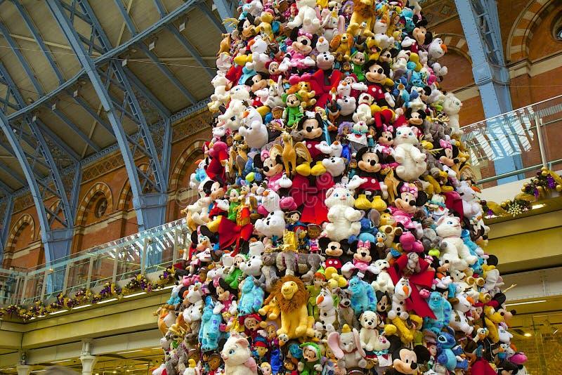 Disney zabawki na choince zdjęcie royalty free