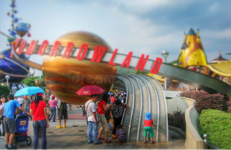 Disney ziemia Hong Kong 2006 obraz stock