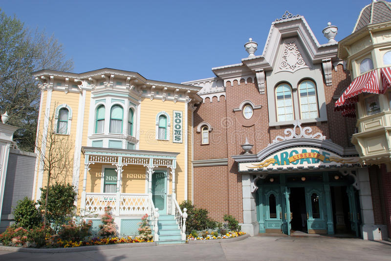 Disneyland στο Παρίσι στοκ φωτογραφίες με δικαίωμα ελεύθερης χρήσης