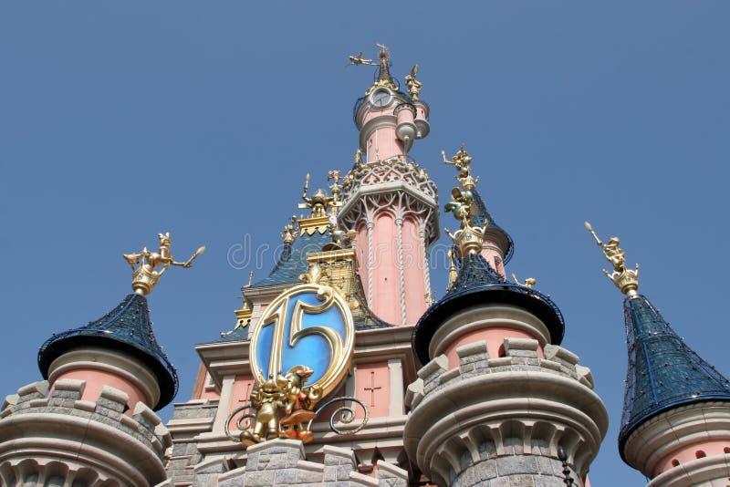Disneyland στο Παρίσι στοκ φωτογραφία με δικαίωμα ελεύθερης χρήσης