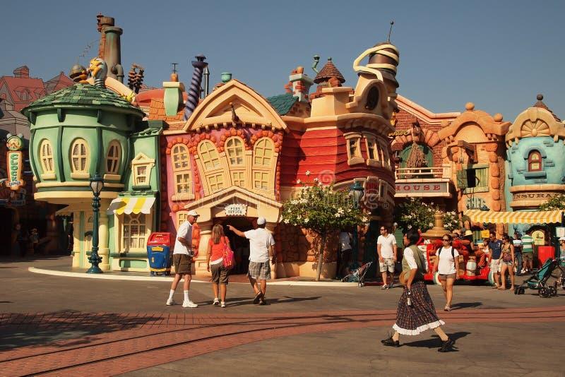 Disneyland royalty-vrije stock afbeeldingen