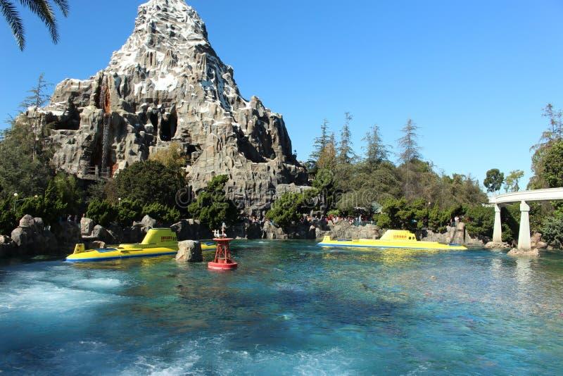 Disneyland-Abenteuer lizenzfreie stockfotos