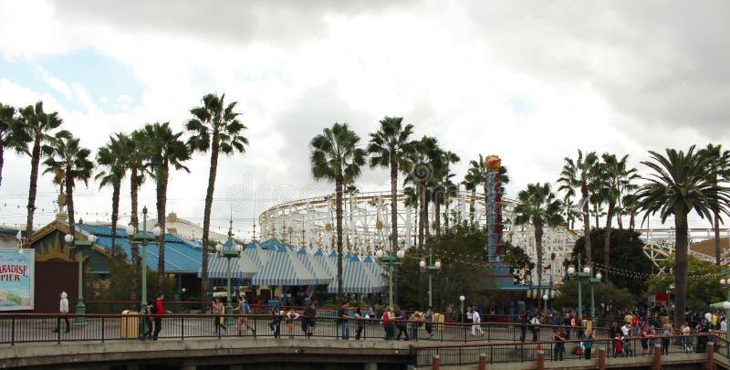 Disneyland adventure stock image