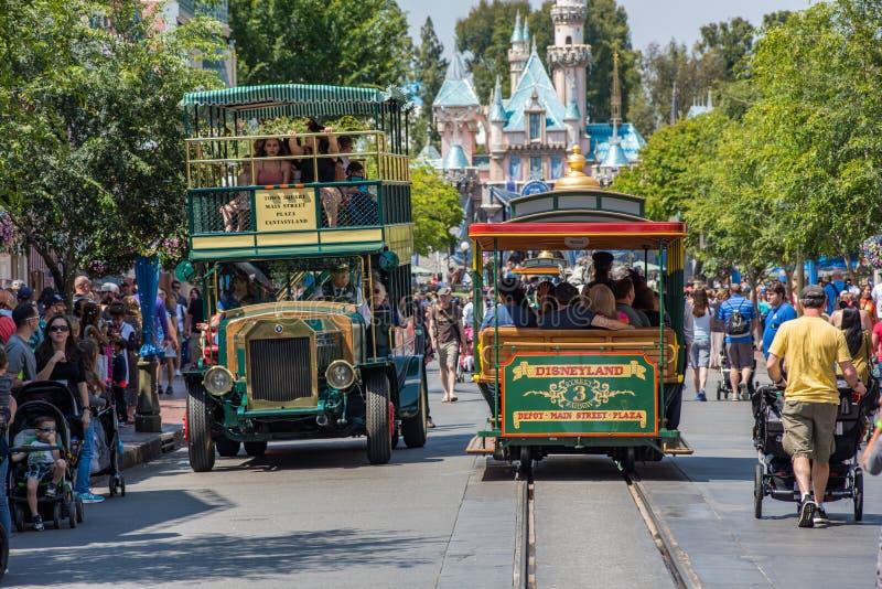 Disneyland in Anaheim, Californië stock foto
