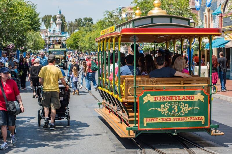 Disneyland a Anaheim, California fotografie stock