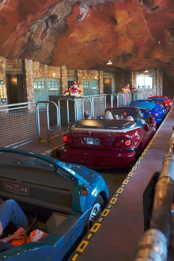 Disneyland California Adventure Cars Land Ride stock photography