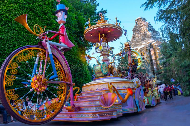 Disneyland Character Parade royalty free stock images