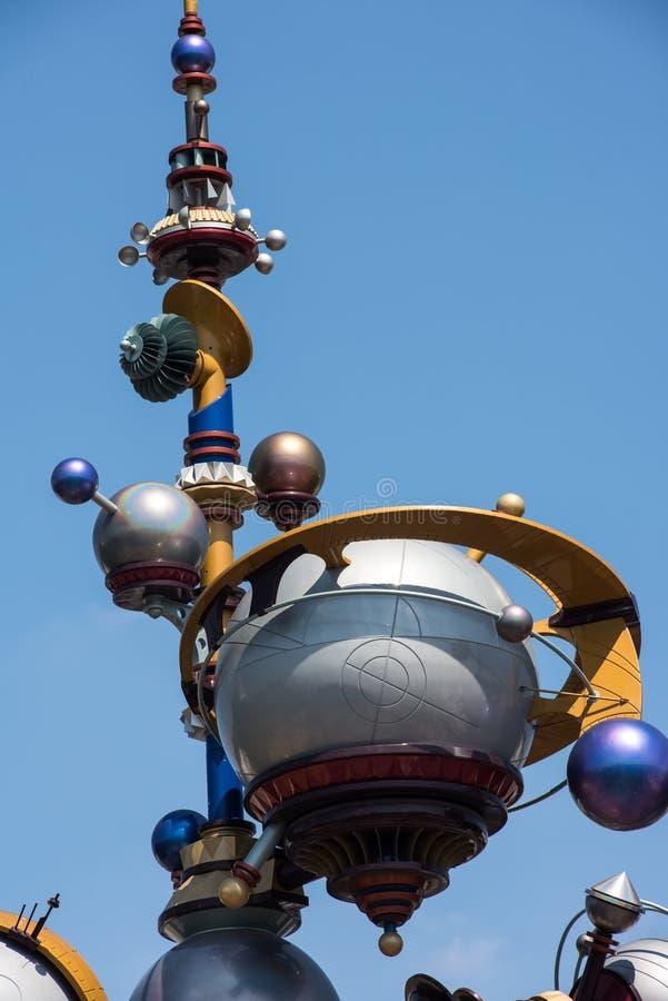 Disneyland en Anaheim, California fotografía de archivo