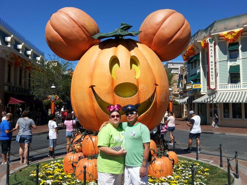Disneyland Halloween royalty free stock image