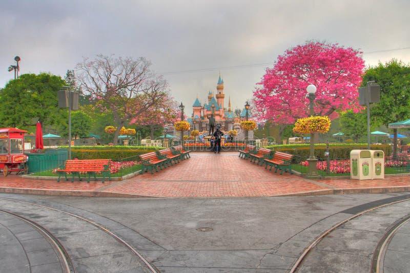 Disneyland HDR fotografía de archivo libre de regalías