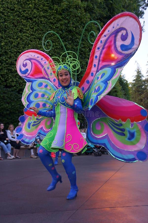 Disneyland het Karakterdanser van de Fantasieparade royalty-vrije stock fotografie