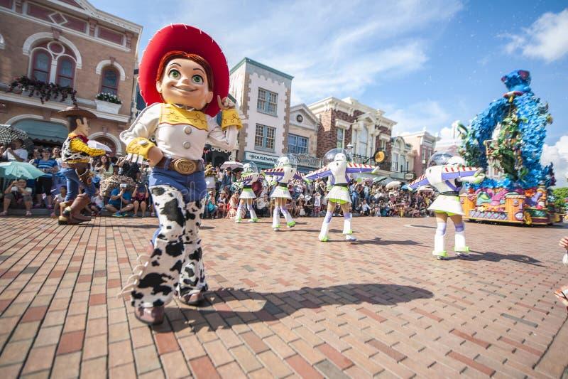 Disneyland HK stockfotografie