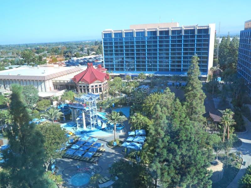 Disneyland Hotel royalty-vrije stock fotografie