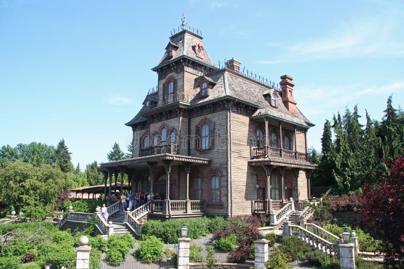Disneyland Huis van Verschrikkingen stock afbeeldingen