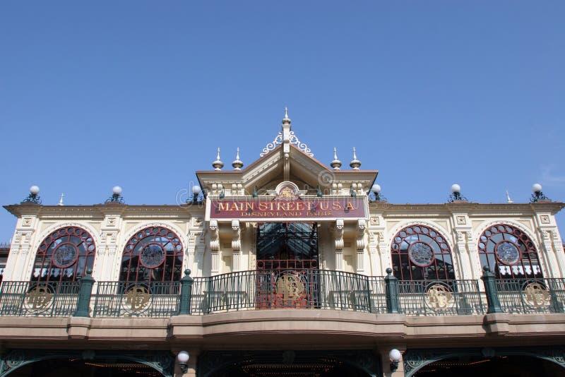 Disneyland i Paris royaltyfria bilder