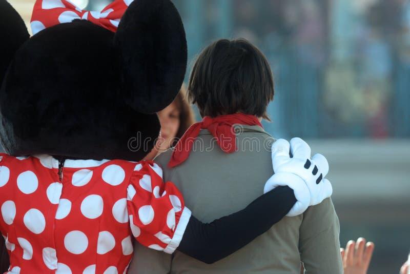 Disneyland i Paris royaltyfri fotografi